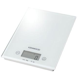 Kenwood DS401.W Bianca Pesa Alimenti Elettronica Max8Kg Frazione 2g Superficie Vetro