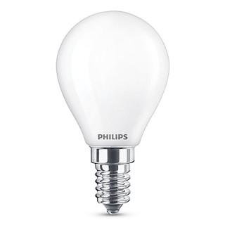 Philips LED Sfera Classic E14 SM 4.3W 230V Lampadina Equivalente 40W 4000K