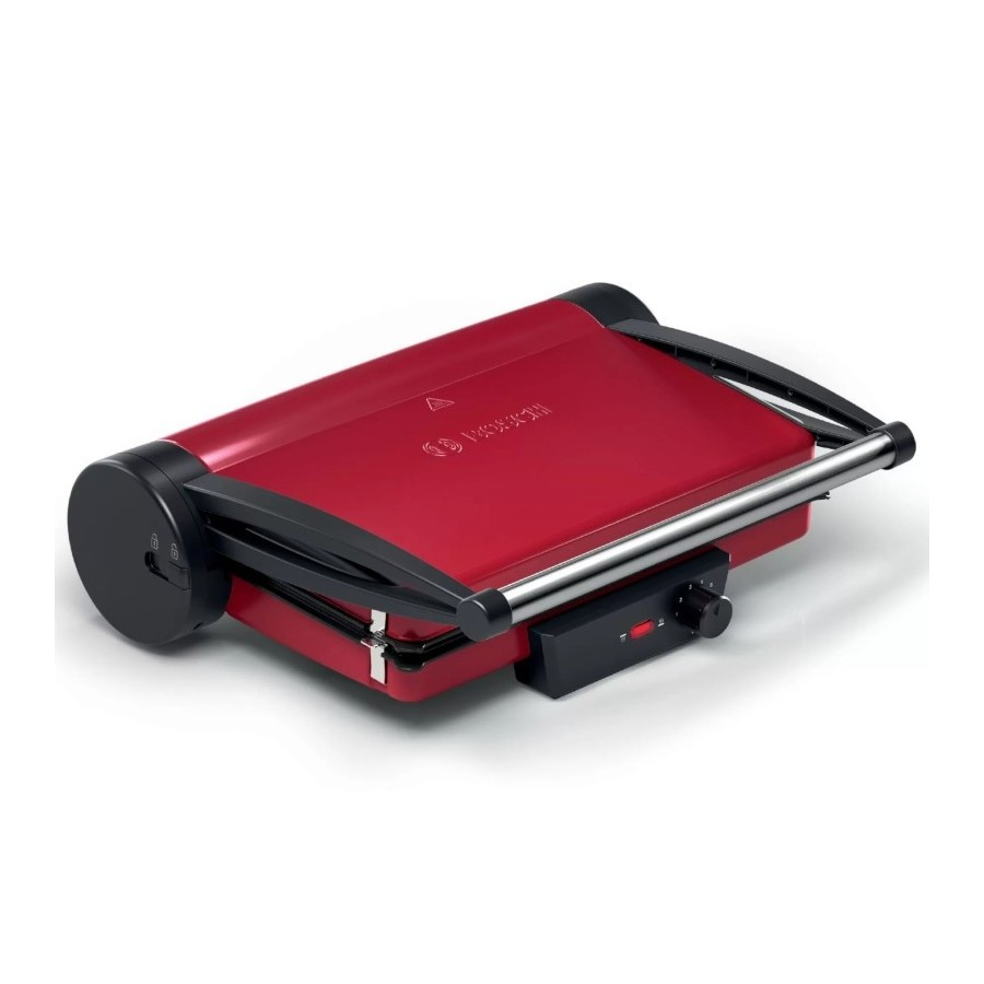 Bosch TCG4104 Rosso Bistecchiera 2000W Superficie Grill 33x24cm Piastre amovibili