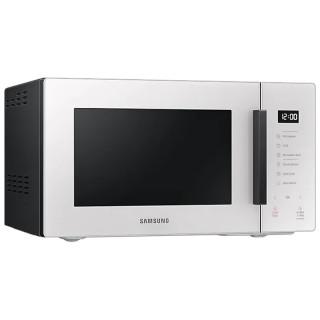 Samsung MG23T5018GE/ET Glass Design Bianco Porcellana Microonde Grill 23L Accessorio Vaporiera