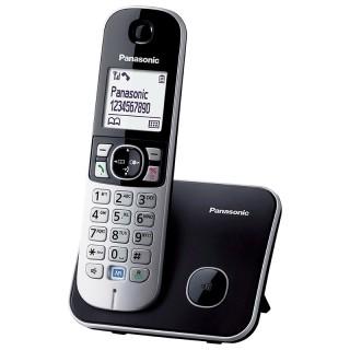 Panasonic KX-TG6811JTB Black Telefono Cordless DECT-GAP VivaVoce Display1.8' Rubrica 120