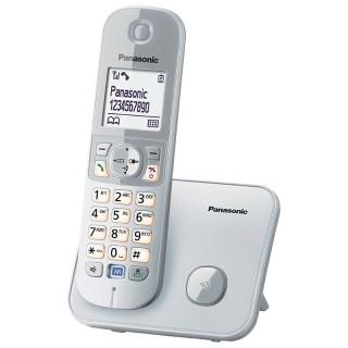 Panasonic KX-TG6811JTS Silver Telefono Cordless DECT-GAP VivaVoce Display1.8' Rubrica 120