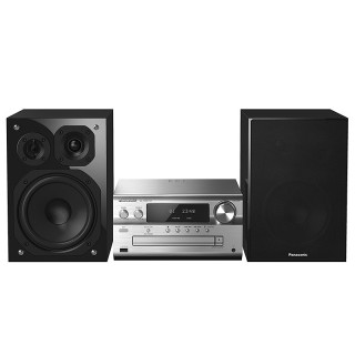 Panasonic SC-PMX152EGS Silver Hi-Fi Micro DAB FM CD USB Bluetooth AirPlay AllPlay Wi-Fi 120W