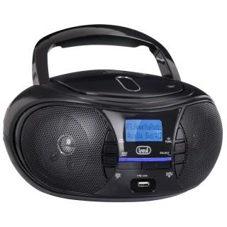 Trevi CMP581DAB Black Stereo Portatile Radio DAB DAB+ FM CD MP3 USB Aux