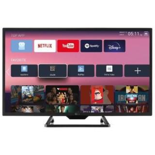 TeleSystem Smart 24 SL12V TV 24' LED HD Android 9 DVB-T2 S2 Doppia Alimentazione 220V 12V
