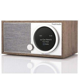 TivoliAudio Model One Digital (Gen.2) Walnut Radio DAB+ FM BT AirPlay2 Chromecast Wi-Fi Art