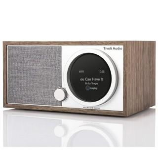 TivoliAudio Model One Digital (Gen.2) Walnut Radio DAB+ FM BT AirPlay2 Chromecast Wi-Fi Art