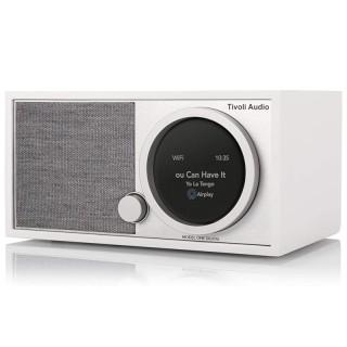 TivoliAudio Model One Digital (Gen.2) White Radio DAB+ FM BT AirPlay2 Chromecast Wi-Fi Art