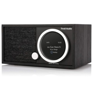 TivoliAudio Model One Digital (Gen.2) Black Radio DAB+ FM BT AirPlay2 Chromecast Wi-Fi Art