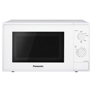 Panasonic NN-E20JWMEPG Bianco Microonde 20Litri 800Watt Comandi Meccanici