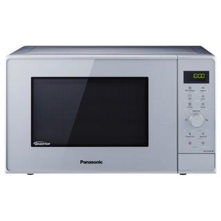 Panasonic NN-GD36HMSUG Silver Microonde Combinato Grill Vaporiera 23L Inverter