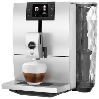 Jura ENA 8 Nordic White Macchina Caffè Automatica 10 Funz Microschiuma Display 2,8'