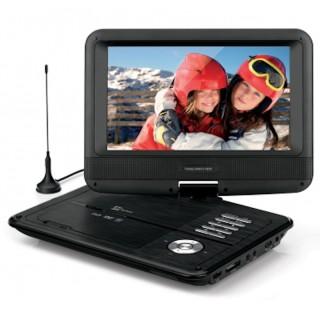 TeleSystem TS5052 TV 9' LED DVB-T2 con Lettore DVD USB Schede SD-MMC