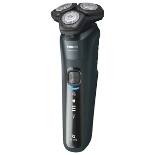Philips S5584/50 Rasoio SkinIQ ContourFollowing 360D Wet&Dry R.1h/A.60min Base Pulizia