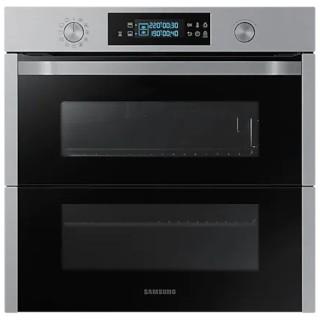 Samsung NV75N5671RS/ET Inox Forno Incasso Doppia Porta Dual Cook Flex 75L Pirolitico
