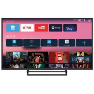 TeleSystem Smart 24 LS09 TV 24' LED HD Android 9 Wi-Fi DVB-T2 DVB-S2 HEVC 10bit