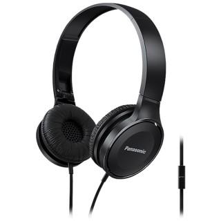 Panasonic RP-HF100ME-K Black Cuffia Padiglione Pieghevole Microfono Comandi Smartphone