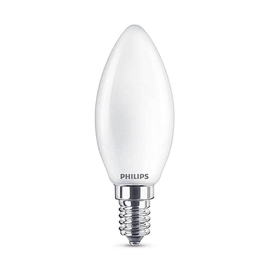 Philips LED Oliva Classic E14 SM 4.3W 230V Lampadina LED Equivalente 40W