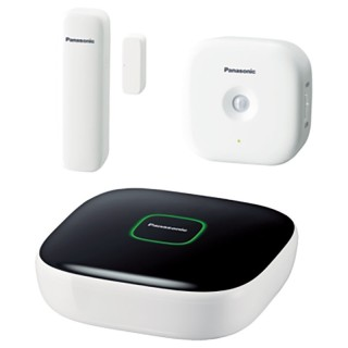 Panasonic KX-HN6010JTW KIT Smart Home: Hub, Window sensor, Motion sensor.