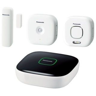 Panasonic KX-HN6011JTW KIT Smart Home: Hub, Window sensor, Motion sensor, Sirena