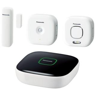 Panasonic KX-HN6011JTW KIT Smart Home: Hub, Window sensor, Motion sensor, Sirena