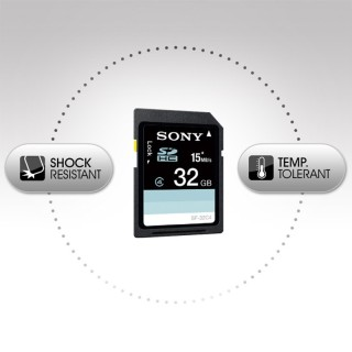 Sony SF32N4 SDHC Memory Card32GB 15MB/sec Class4