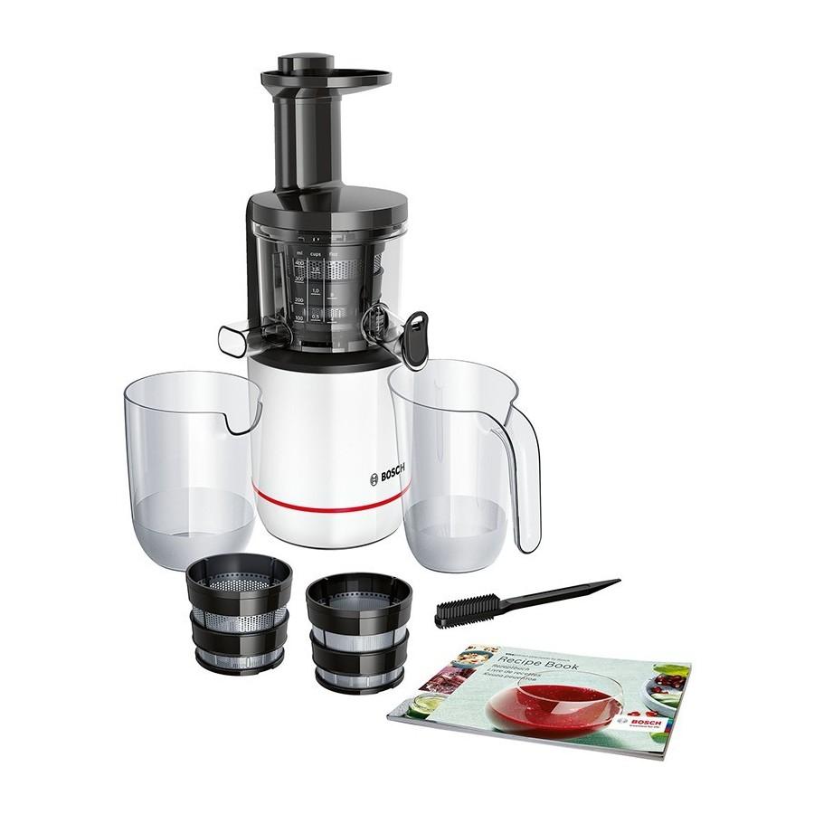 Bosch MESM500W Estrattore VitaExtract GentleSqeezingTechnology 2Filtri 55giri/min