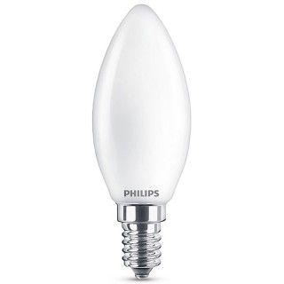 Philips LED Oliva Classic E14 SM 2.2W 230V Lampadina LED Equivalente 25W