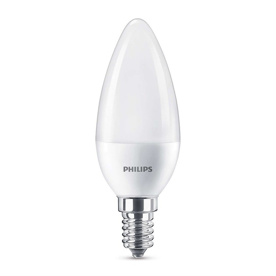 Philips Oliva SM E14 5.5W 230V Lampadina LED Equivalente 40W