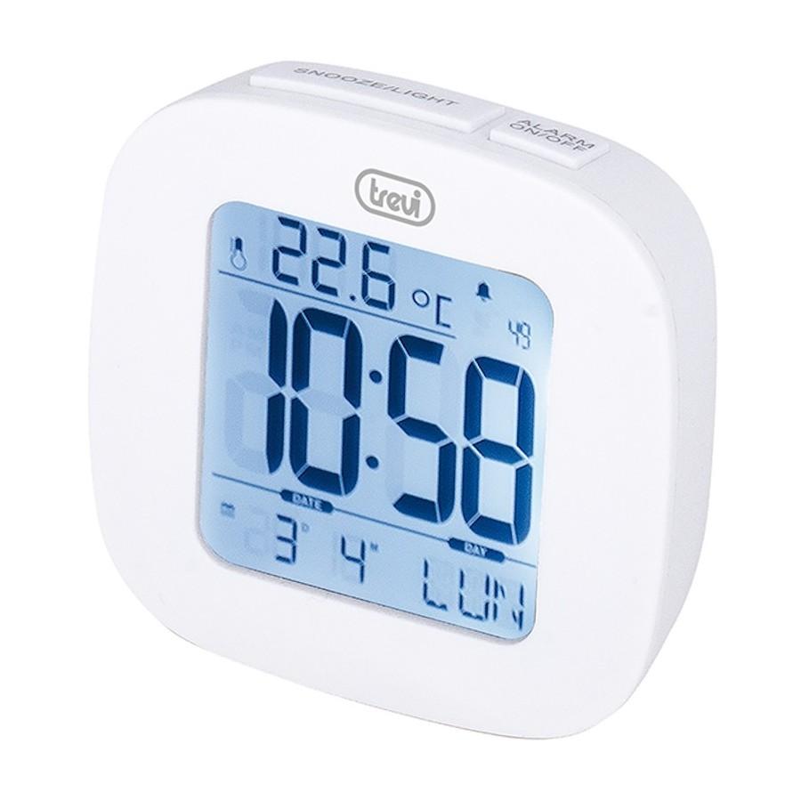Trevi SLD3860 Orologio Digitale Sveglia Calendario Termometro