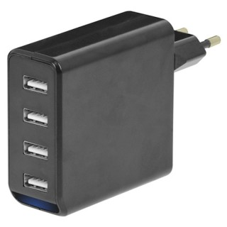 Trevi TA480 USB Alimentatore 4.800mAh 4 Prese USB