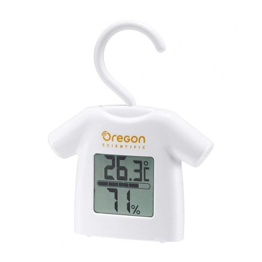 Oregon Scientific CHS0012 Termometro Digitale Igrometro con Gancio
