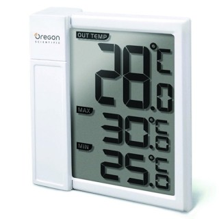 Oregon Scientific THT328 Termometro Digitale da Finestra Temperatura Attuale Min Max