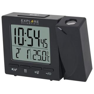 ExploreScientific RDP1001 Orologio Proiezione Sveglia Giorno Temperatura