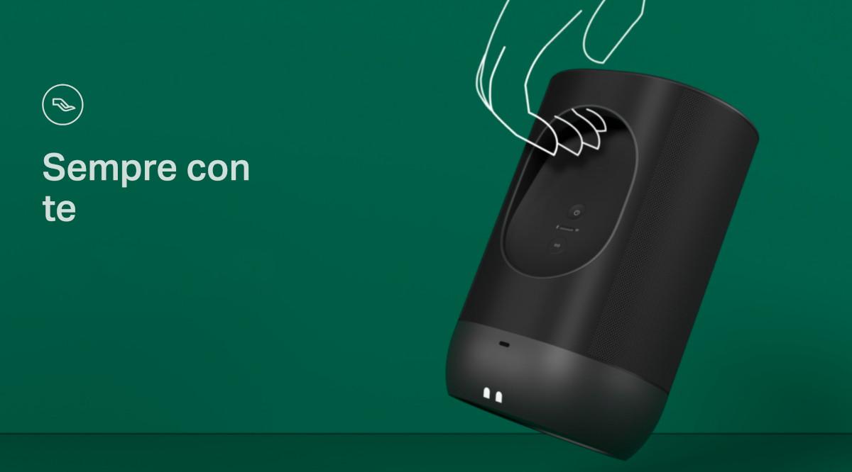 Sonos Move Black Diffusore Ricaricabile Wi-Fi AirPlay 2 Multiroom ...